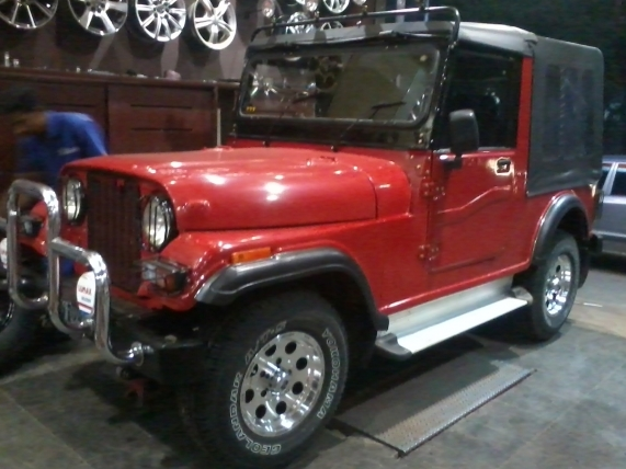 Restoring MM 540 Jeep DP